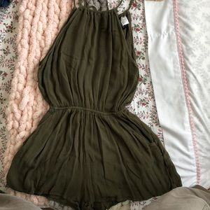 Dusty Green Romper from H&M